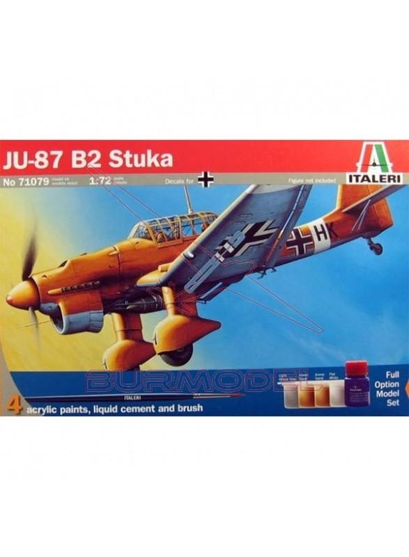 Model Set. Maqueta JU-87 B-2/R-2 Stuka 1/72