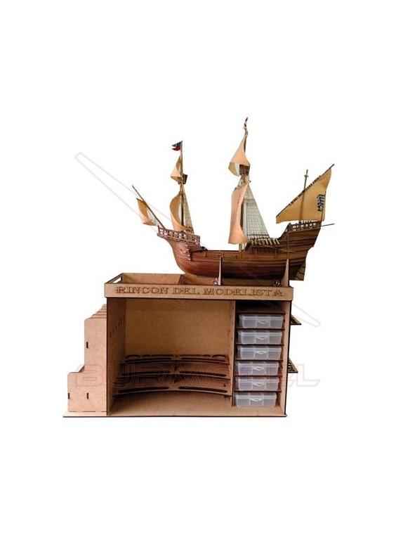 Mueble para barcos Rincón del modelista
