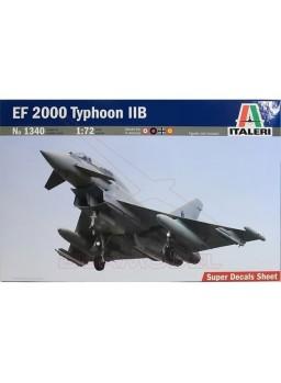 Maqueta 1:72 Italeri EF 2000 Typhoon IIB