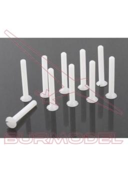 Tornillos plástico M3x10 nylon (5 pzs)