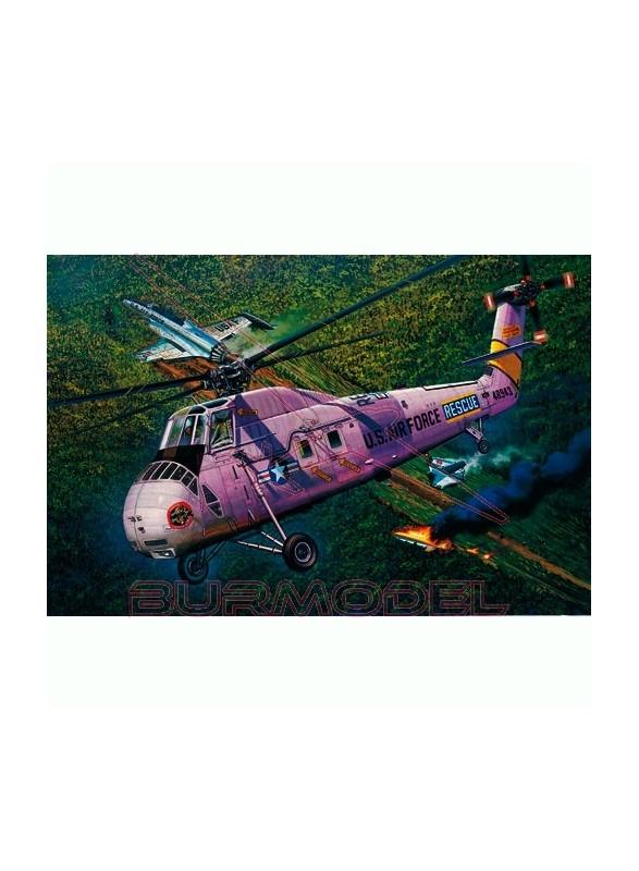 Maqueta helicóptero HH-34J USAF 1:48