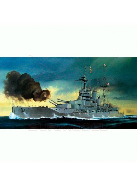 Maqueta trumpeter 1:700 HMS Queen Elizabeth 1918