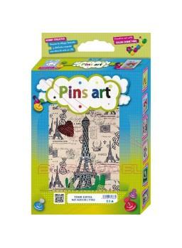 Construcción Pins Art Torre Eiffel