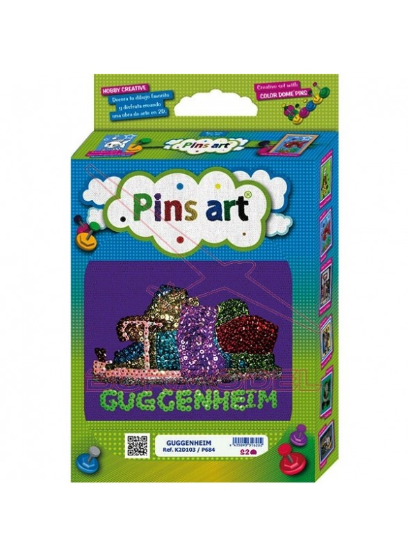Construcción Pins Art Guggenheim