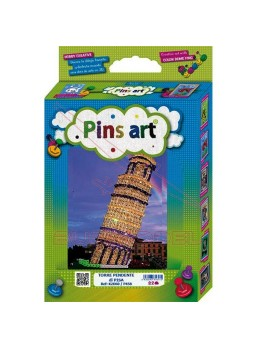Torre de pisa para montar. Pins Art