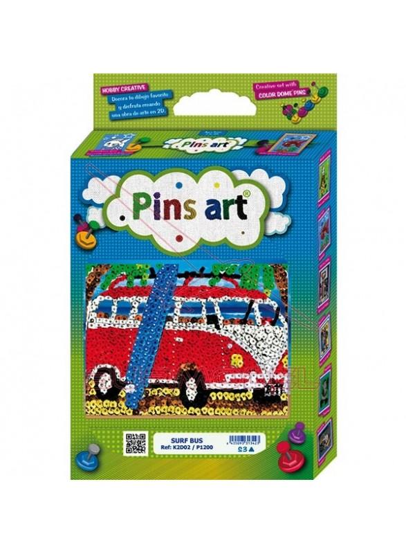 Kit de montaje Surf Bus. Pins Art