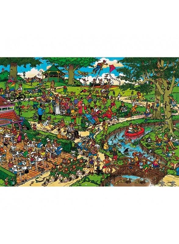 Puzzle 1000 piezas en El Parque.