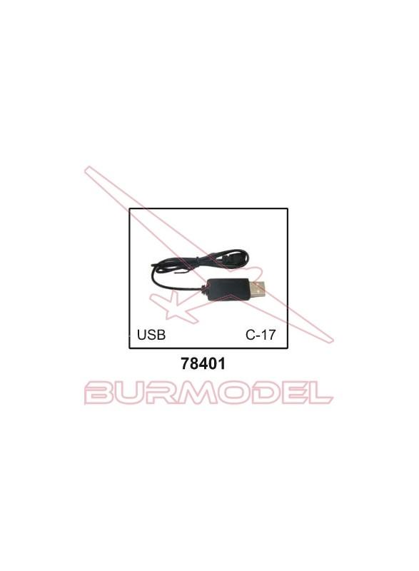 Cable de carga USB del dron 78010