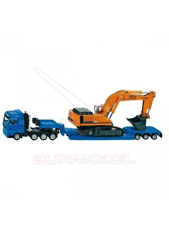 Maqueta montada SIKU camión transporte 1:87