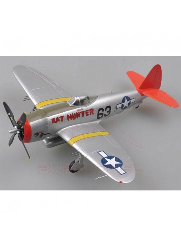 Maqueta montada avión P-47D Rat Hunter 1:48