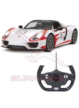 Porsche 918 Spyder Race. Coche RC 1/14