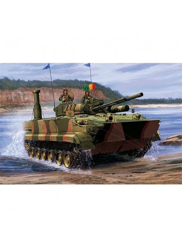 Tanque BMP-3 Korea 1:35. Maqueta Trumpeter