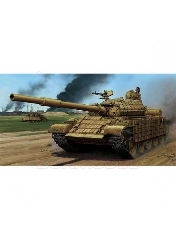 Maqueta tanque T-62 ERA Mod.1972. Escala 1:35