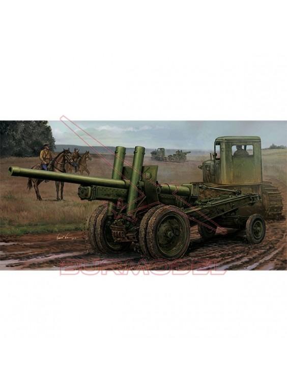 Maqueta Soviet A-19 122mm Gun Mod.1937