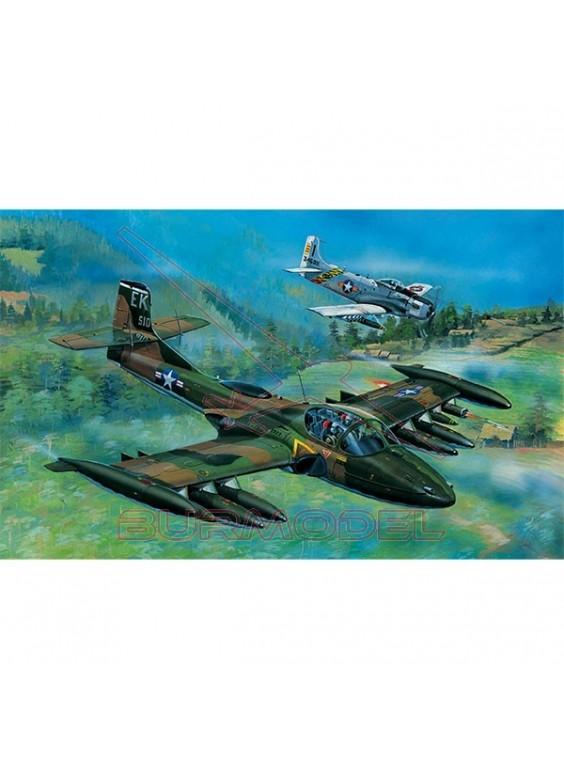 Maqueta avión A-37A Dragonfly 1:48