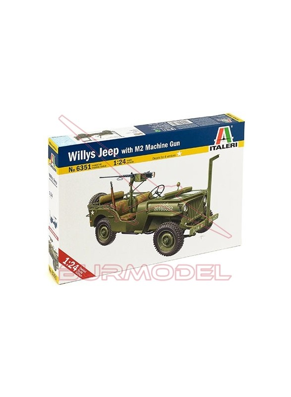 Maqueta Willys Jeep 1:24