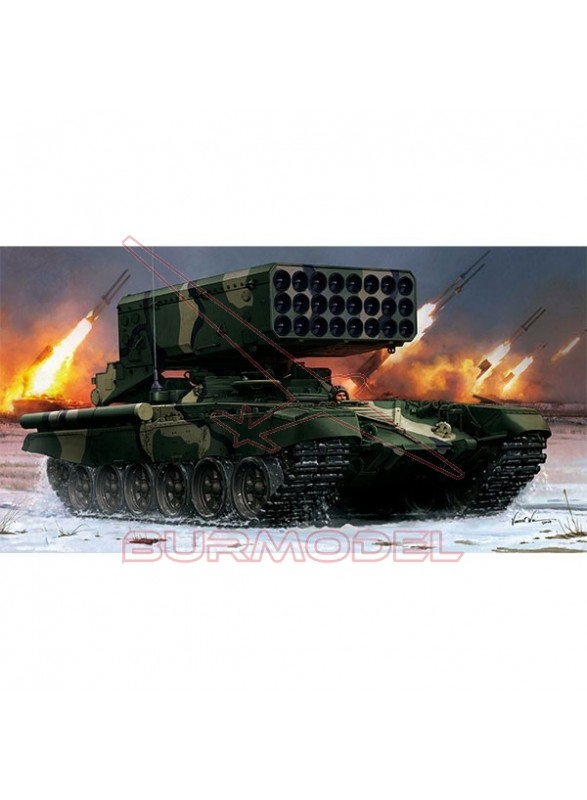 Tanque Russian TOS-1A Multiple Rocket Launcher