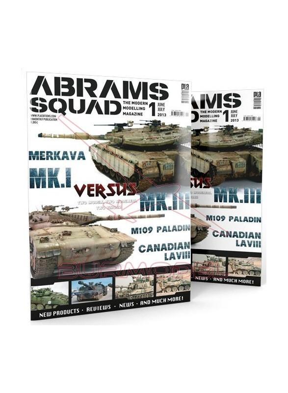 Revista Abrams Squad 01 - Castellano