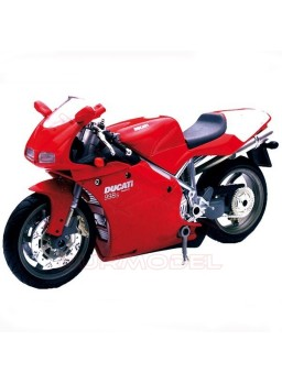 Moto Ducati 998S para montar. Escala 1:12