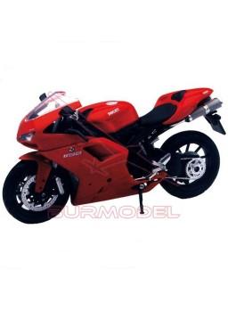 Maqueta moto para montar Ducati 1198 escala 1:12