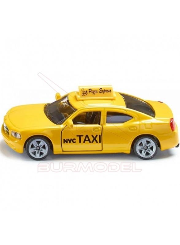 Maqueta montada Taxi New York. Maqueta SIKU