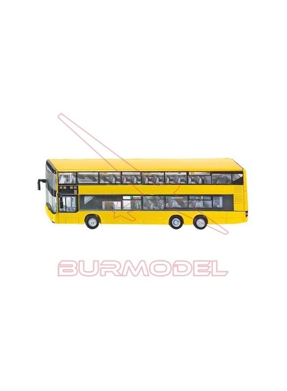 Maqueta autobús urbano doble piso. Escala 1:87