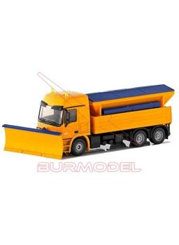 Camión quitanieves con expendedor de sal. 1:50