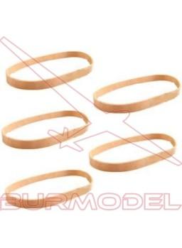 Gomas elásticas 9.0x100mm (10 unds)