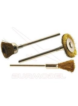Cepillos de pulir para taladradoras (9unds)