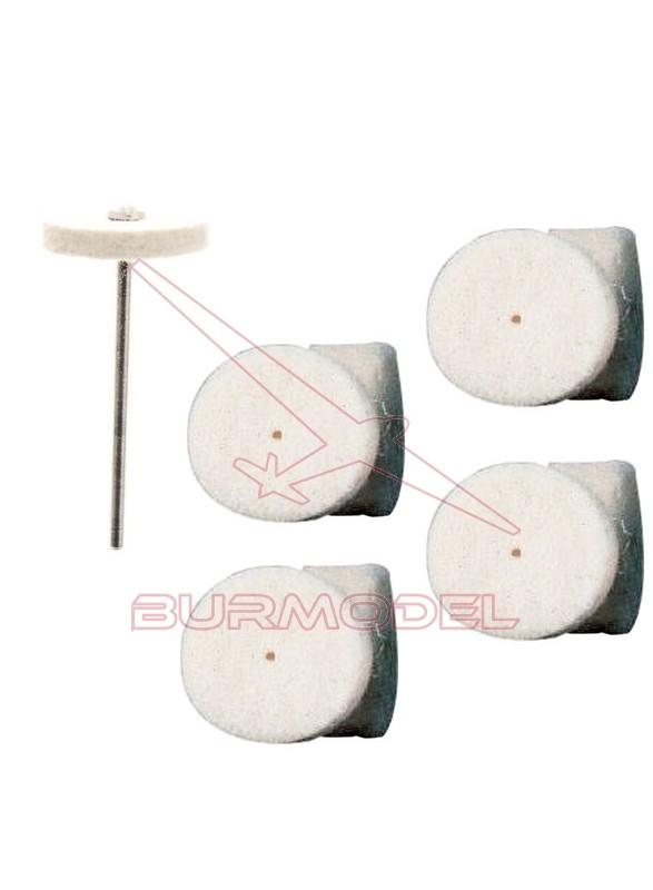 Discos de filtro para pulir (5 unds)