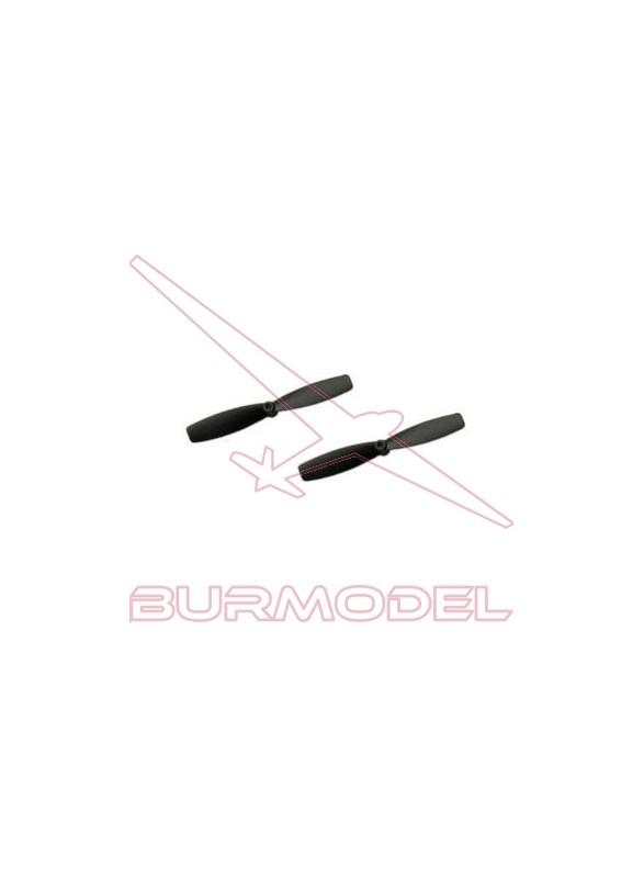 Recambio hélices derecha para avión Predator 3D