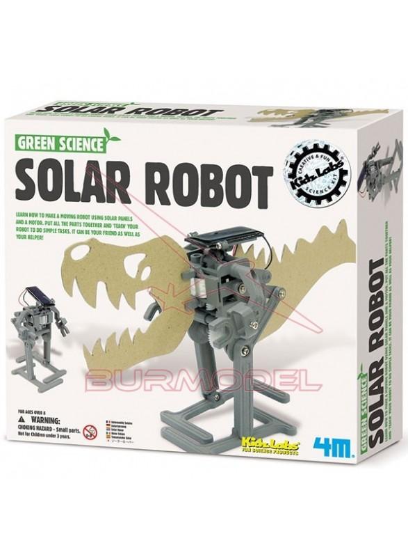 Robot solar. Green Science