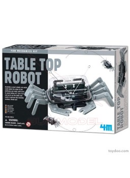 Table Top Robot. Cangrejo robótico 4M