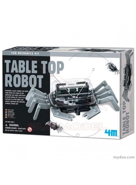 Table Top Robot. Cangrejo robótico 4M