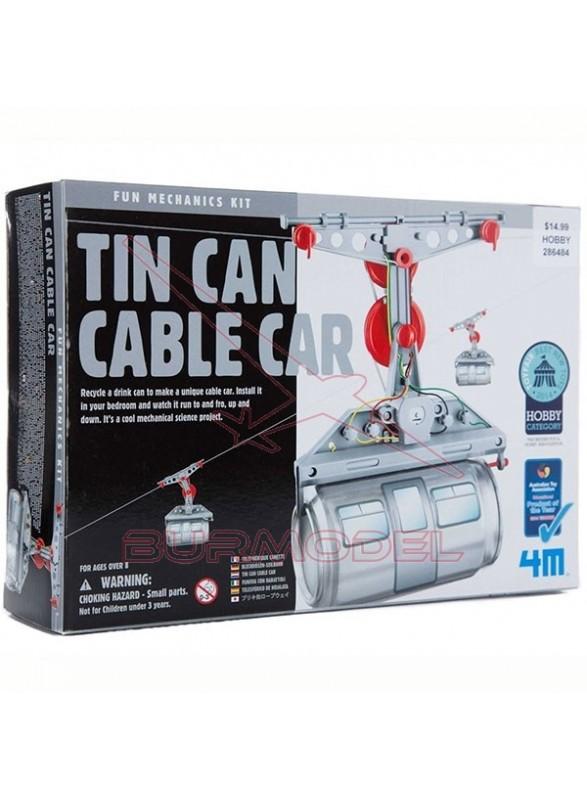 Telesférico de hojalata. Tin Can Cable Car