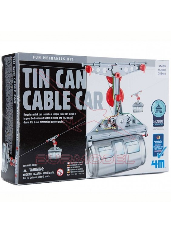 Teleférico de hojalata. Tin Can Cable Car