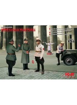 Maqueta Policias Alemanes 2ª Guerra Mundial