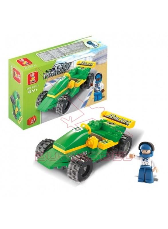 Maqueta infantil Sluban Formula 1 63 piezas
