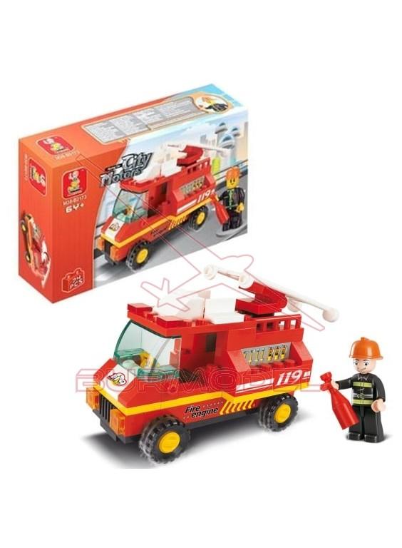 kit de montaje Sluban Camión de bomberos