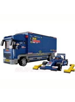 Maqueta para montar coche y camión de equipo F1