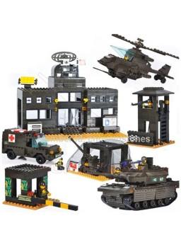 Construcción infantil base militar