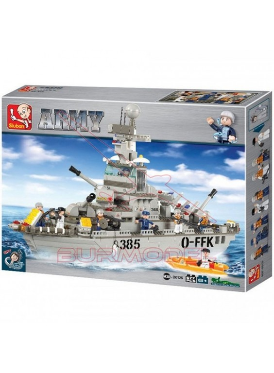 Kit Sluban Cruiser Army. Maqueta de 57cm longitud