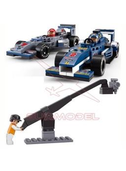 Construcción Sluban Grand Prix F1 300 piezas