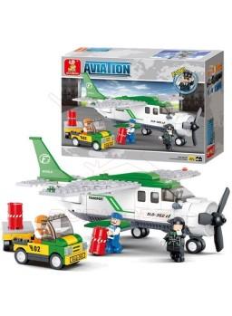 Maqueta infantil para montar set aviación