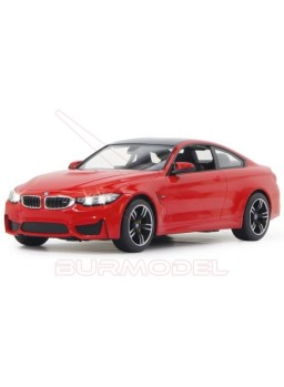 BMW M4 Coupe. Coche RC escala 1/14 color rojo