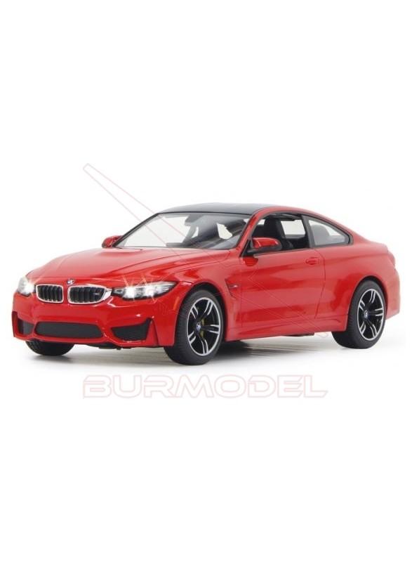 BMW M4 Coupe. Coche RC escala 1/14 color rojo