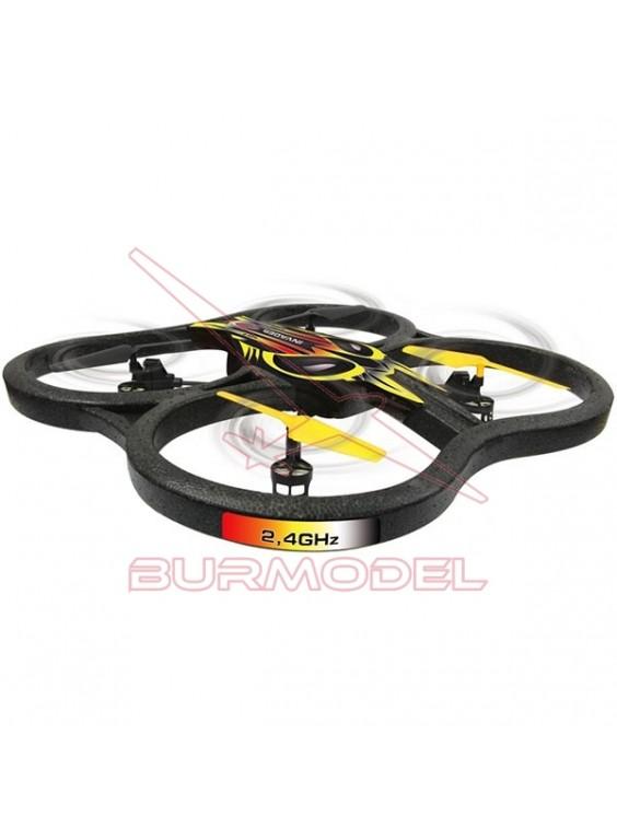 Dron invader RC Quadrocopter 360º Flip