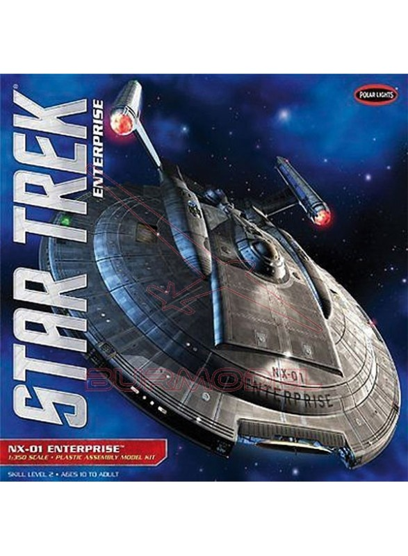 Maqueta Polar Star Treck Enterprise 1/350