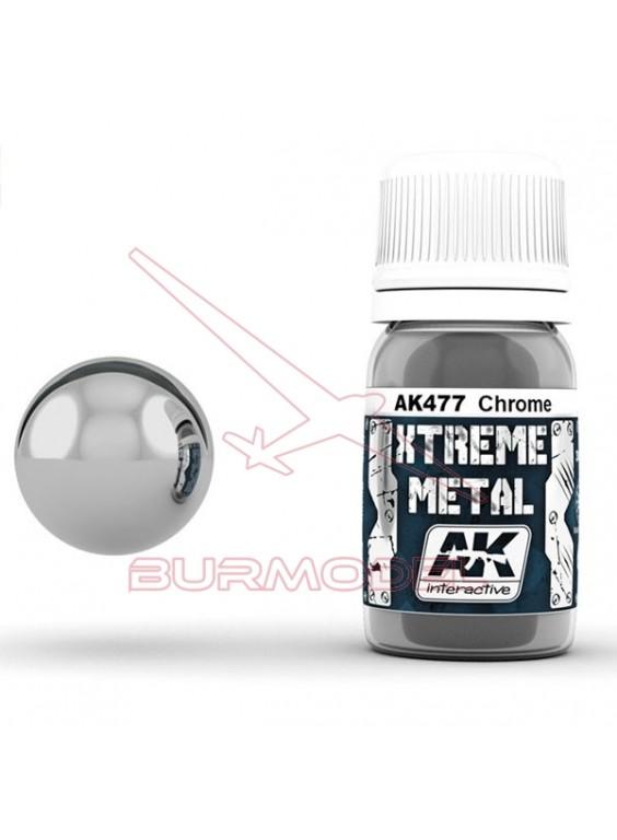 Cromo Xtreme metal. Bote de 30ml