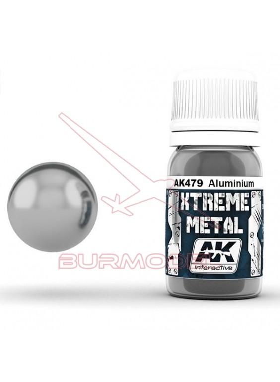 Aluminio Xtreme Metal. Esmalte para aerógrafo